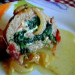 Polpettone spinaci e prosciutto