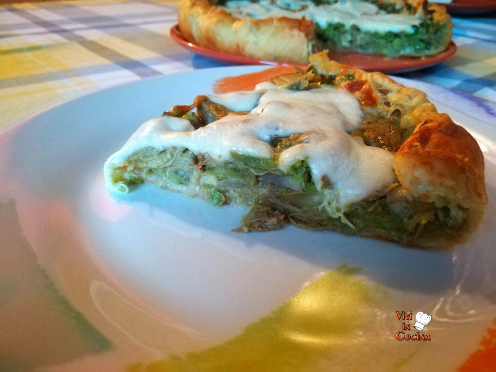torta salata tris verdure