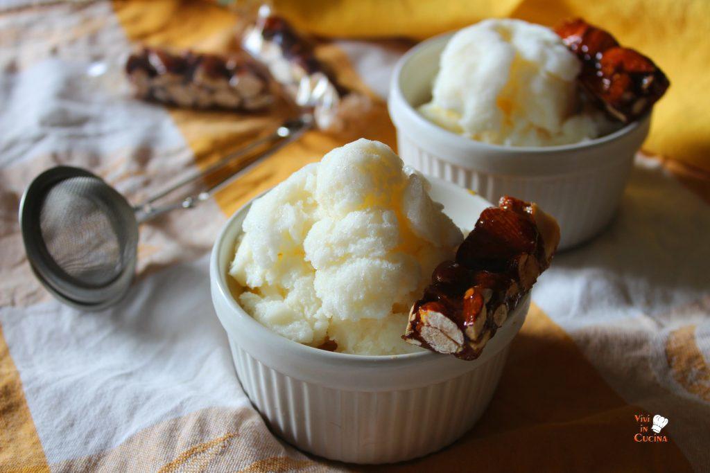 gelato fior di latte