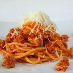 Spaghetti al ragù di salsiccia