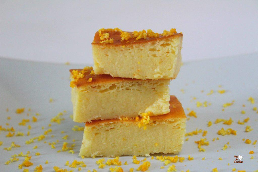 torta di ricotta e arancia