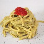Linguine al pesto di pistacchio