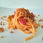 Spaghetti peperone e bottarga