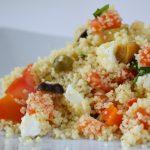 Cous cous verdure e salmone